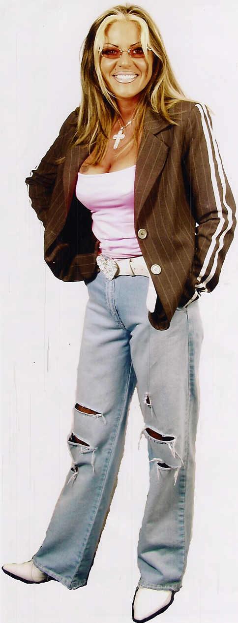 Anastacia lookalike - Splitting Images Will Smith