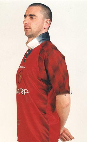 Eric Cantona Lookalike