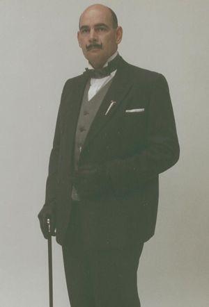 Hercule Poirot Lookalike