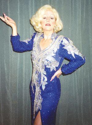 Marlene Dietrich Lookalike