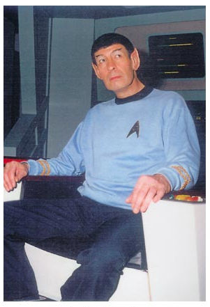 Mr Spock Lookalike