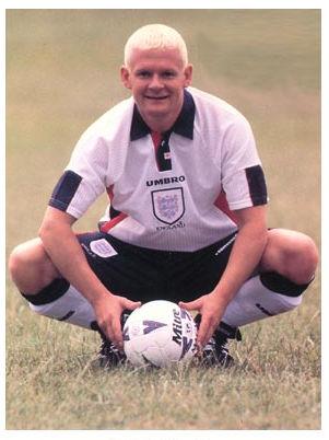 Paul Gascoigne Lookalike