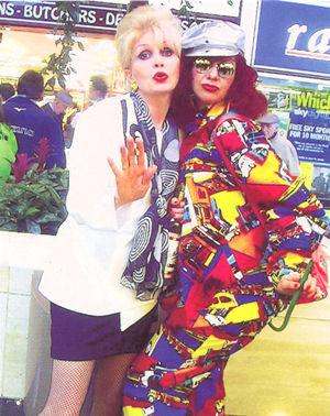 Patsy & Edina Lookalike