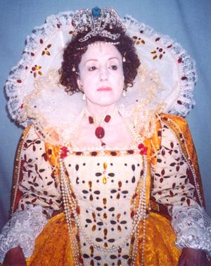 Queen Elizabeth I Lookalike